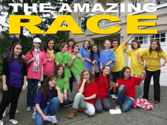 The Amazing Race reality television show is like a huge scavenger hunt with challenges and clues along the way. Instead of receiving a list of objects to ...  sc 1 st  Party Time Mysteries & Party Time Mysteries: Thursdayu0027s Theme of the Day: Amazing Race